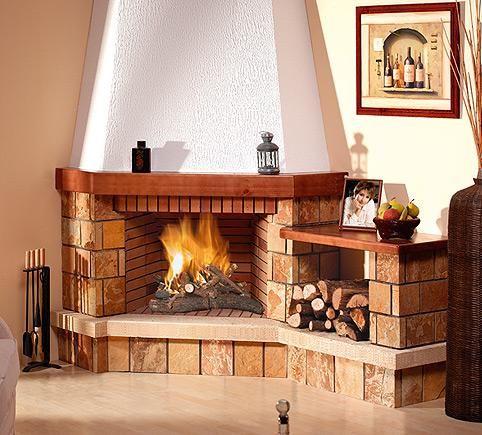 M s de 25 ideas incre bles sobre chimeneas en pinterest - Ver chimeneas rusticas ...