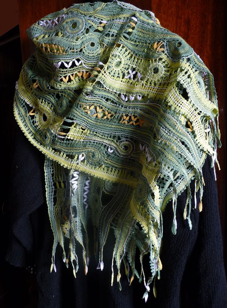 шарф, 170х50см