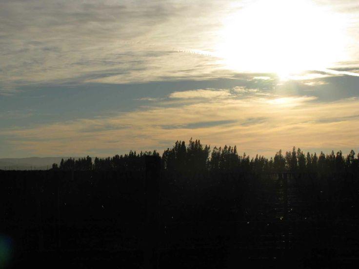 Cielo del atardecer en el Valle del Encanto, cerca de Ovalle. // Sunset sky in the Valle del Encanto, near the city of Ovalle. (IV Región)