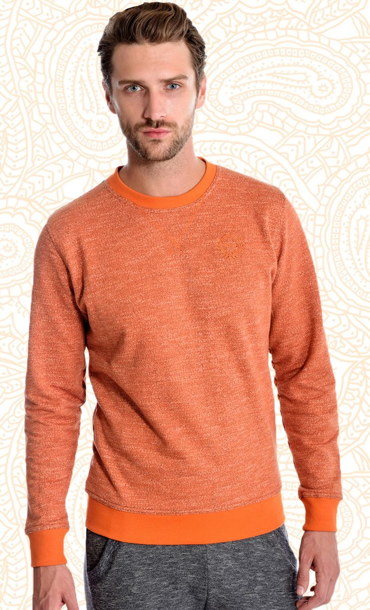 Mavango Sports Orange Round Neck Tee | Mavango Fashion eStore