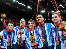 Gymnastics artistic team (bronze)  Sam Oldham,Kristian Thomas,Max Whitlock,Louis Smith and Daniel Purvis