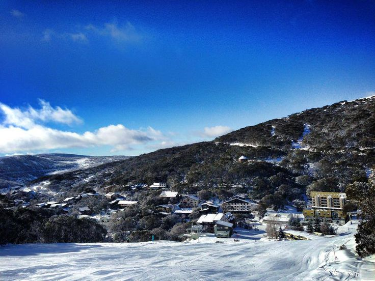 Falls Creek ski in ski out snow resort in Australia #snowaus