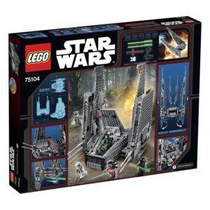 LEGO Kylo Ren Command Shuttle 75104 Building Kit