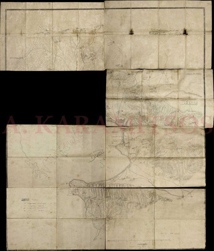 """""""Χάρτης της Θεσσαλονοκης και των πέριξ"""", Εκ του στρατιωτικού τυπογραφείου Θεσσαλονίκης"""