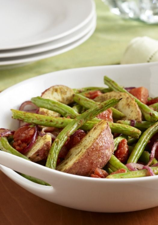297 best easy thanksgiving recipes images on pinterest for Easy thanksgiving green bean recipes