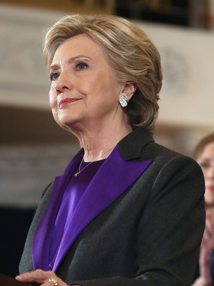 Did You Catch the Symbolism of Hillary Clinton's Purple Suit? via @WhoWhatWear