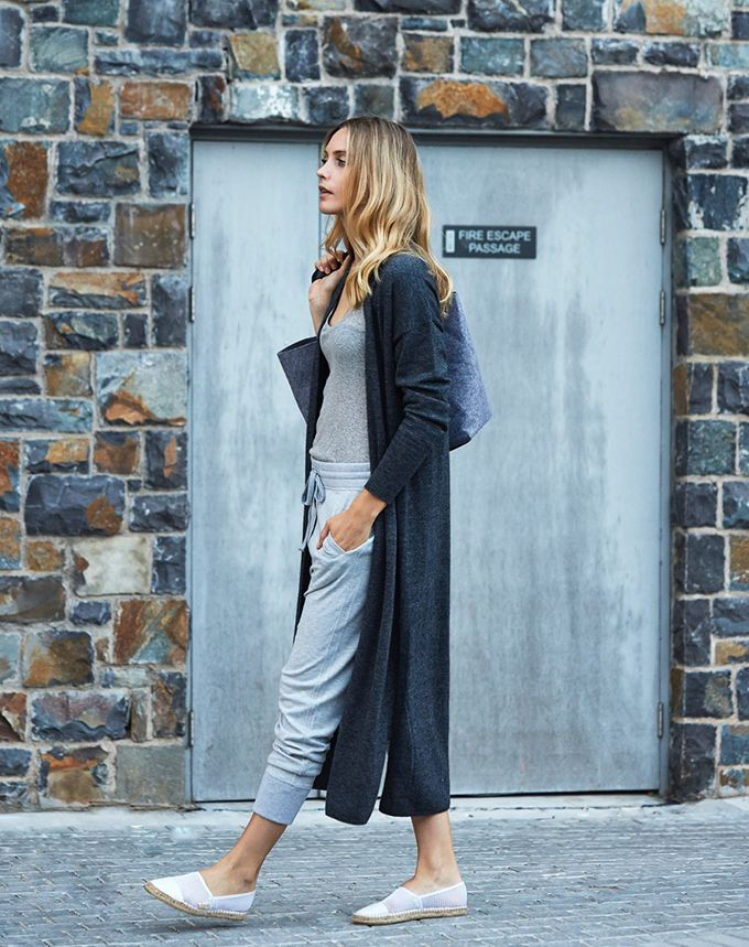 This is a very basic look ; palette is popular. could be a casual gym style pant or could be in another fabric : Emma Menteath Style Collective