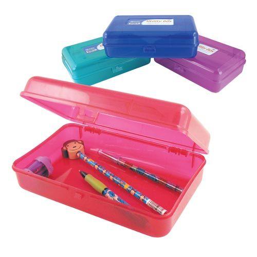 pencil box,pencil case,storage box,school supply storage