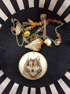 Wolf necklace