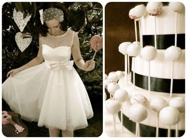 20 abiti da sposa 2014, abbinati ad altrettante torte nuziali: delizia per gli occhi e per il palato! Image: 7