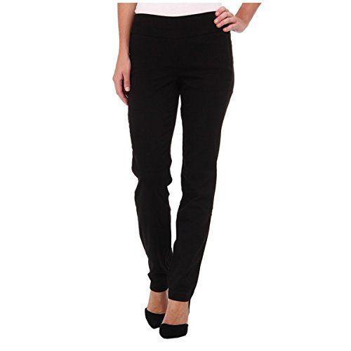 (ミラクルボディージーンズ) Miraclebody Jeans レディース ボトムス カジュアルパンツ Janis Pull-On Tapered Sueded Sateen 並行輸入品  新品【取り寄せ商品のため、お届けまでに2週間前後かかります。】 表示サイズ表はすべて【参考サイズ】です。ご不明点はお問合せ下さい。 カラー:Black
