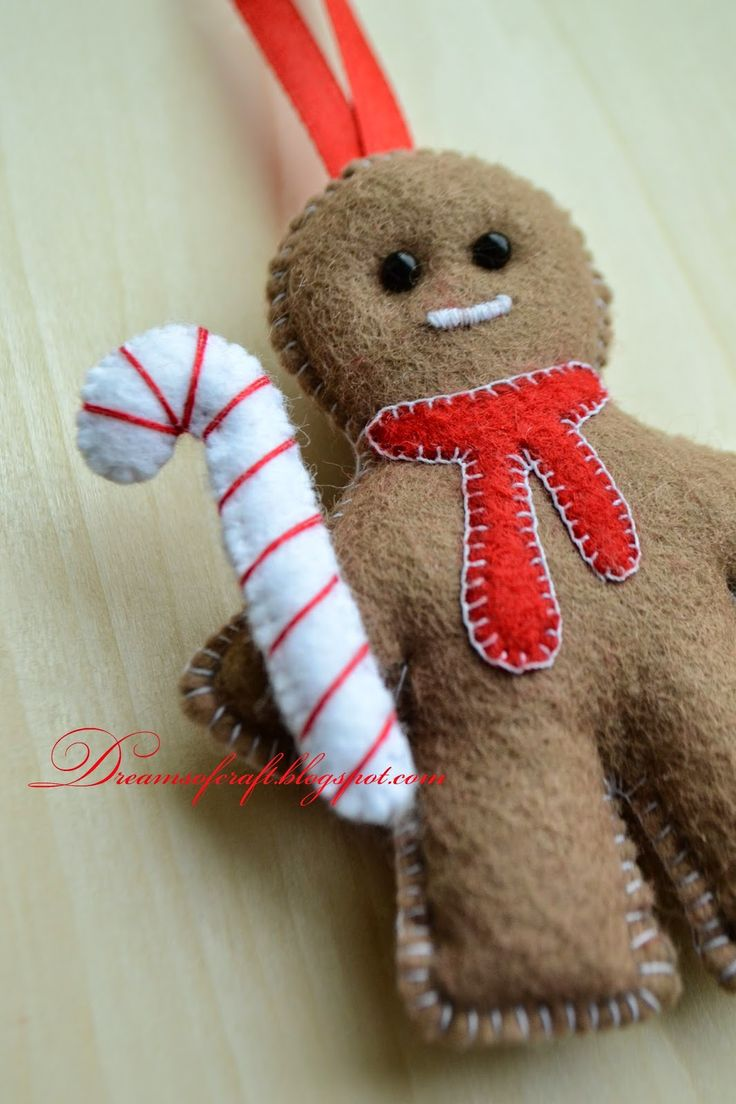 Dreams of craft: Рождественский пряничный человечек