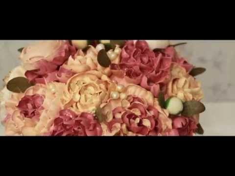 Торты в стиле ВИНТАЖ от Карманцевой Надежды - YouTube