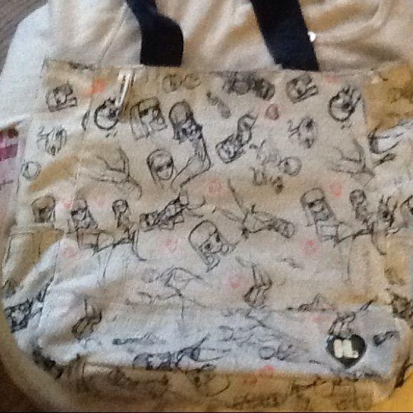 Harajuku Lovers Tote & Make Up Bag