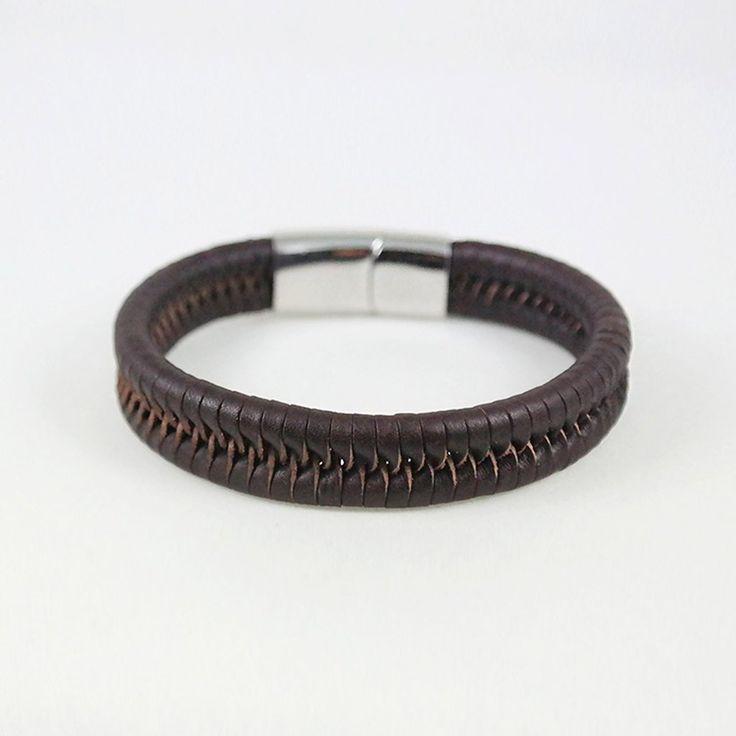 Eric Cuff / brown leather