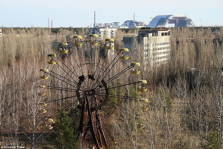 Holiday in the death zone: How nuclear disaster-hit Chernobyl now has TEN THOUSAND tourists a year