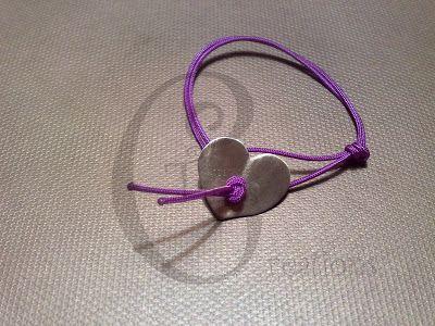 GG Jewels & More! - Tina's Creations: 5€ Βραχιολάκι καρδια ορειχαλκου / Brass heart brac...