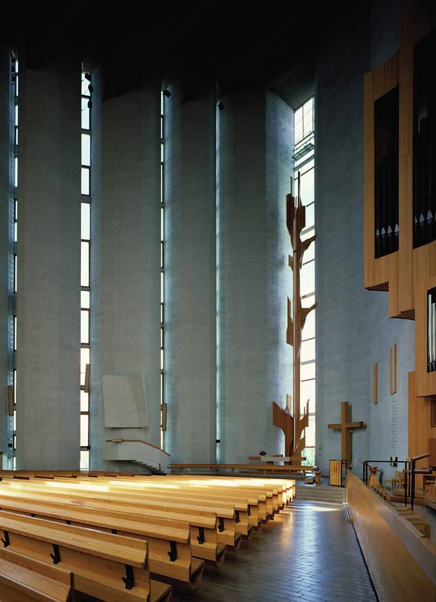 Kalevan kirkko, Tampere Finland, Raili ja Reima Pietilä