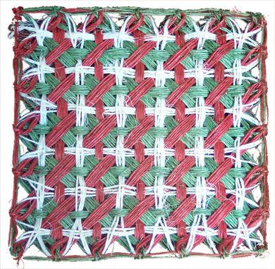 $3.000 COP Portavasos navideño en cabuya