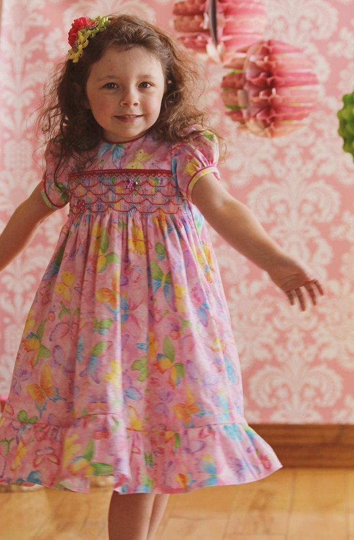 Smocked pattern Girl Dress Pattern PDF by EllieInspiredClothes ...