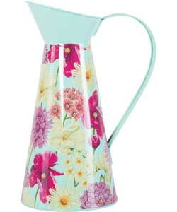 Hothouse Floral Jug.