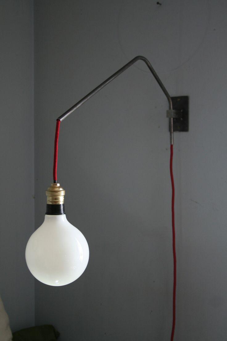 nu 39 lampe en applique metal brut inspiration loft. Black Bedroom Furniture Sets. Home Design Ideas