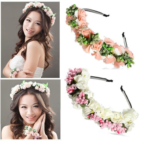 Cheap hair accessories kids, Buy Quality hair root directly from China hair accessories claw clips Suppliers:	Bride hair accessory Flower Garland Floral Bridal Headband Hairband Wedding Prom Garland Hoop Hair Accessories free shi