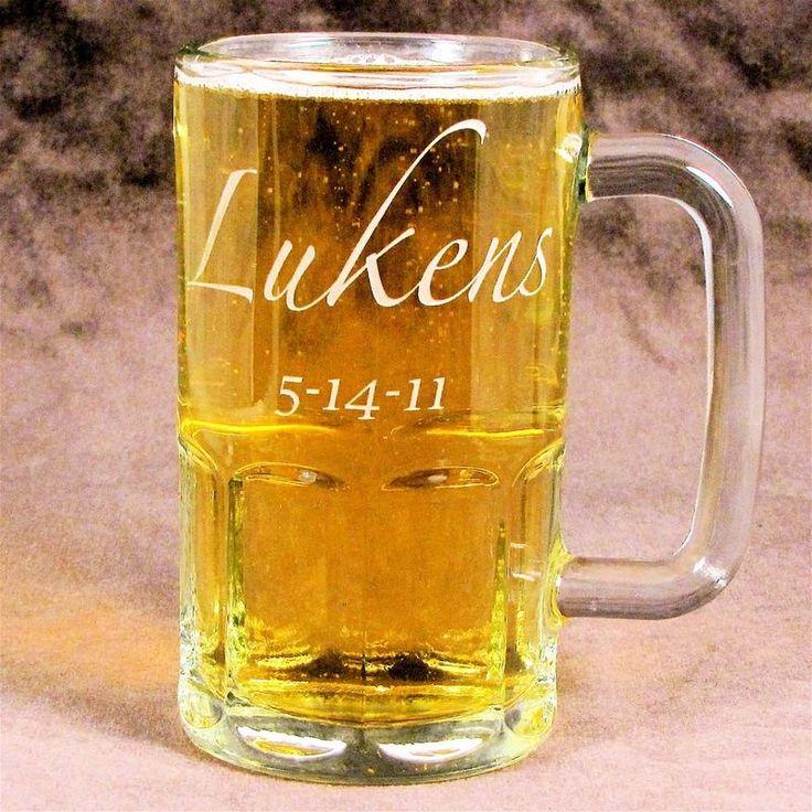 Personalized Beer Mug, perfect groomsmen gifts