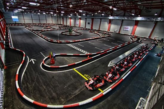 Gokarts in Krakow. http://partykrakow.co.uk/stag-weekends-krakow/action-driving/go-karting/