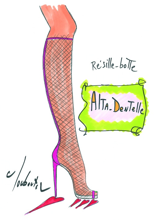 Illustration by Christian Louboutin.: Anniversary Capsule, Anniversaries, Christian Louboutin, Capsule Collection, Louboutin 20Th, Fashion Illustrations, Christianlouboutin, 20Th Anniversary