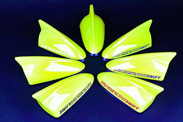 スイフトスポーツ スイフト Swift Swiftsportszc31 Swiftsportszc32 Swiftsportszc33 スイフト好きな人と繋がりたい Rstakeda イブデザイン シャークアンテナ デザインアンテナ Dazシリーズ スイフトスポーツ デザイン アンテナ
