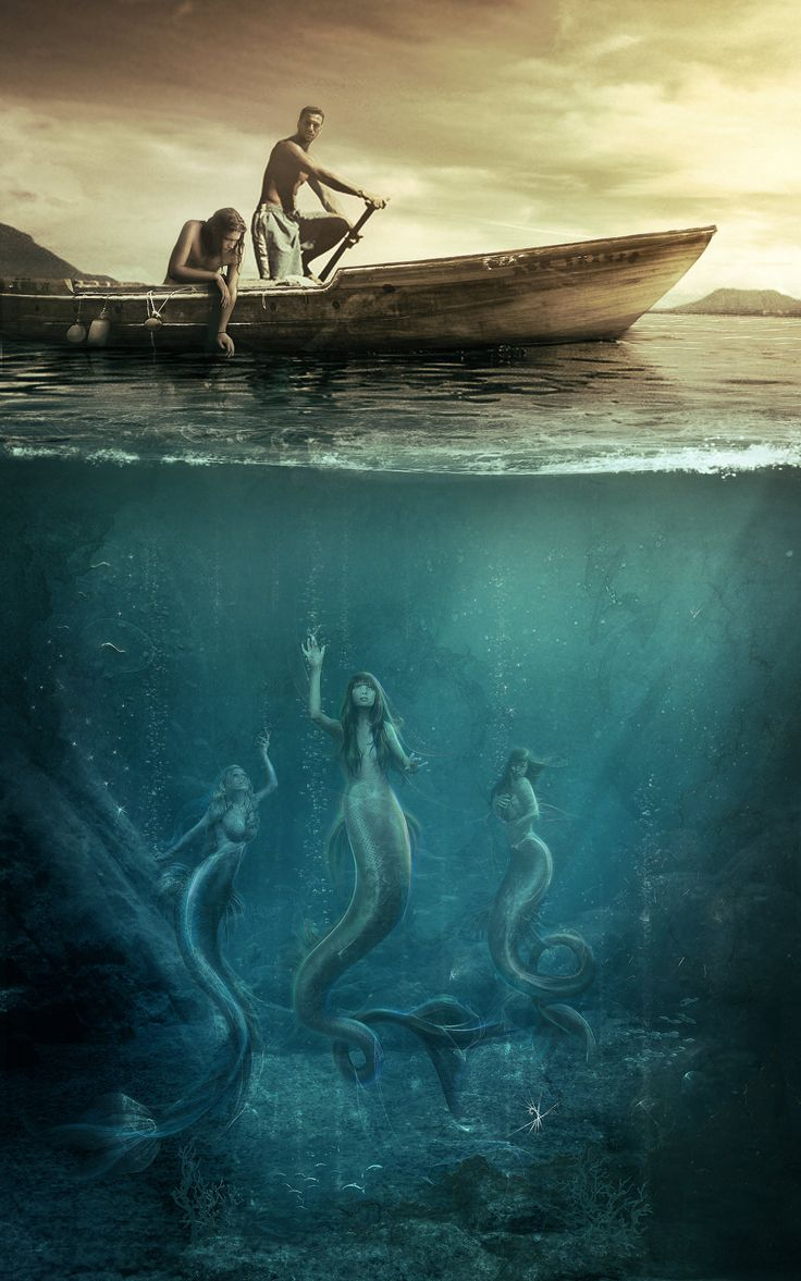 mermaid by Vasylina.deviantart