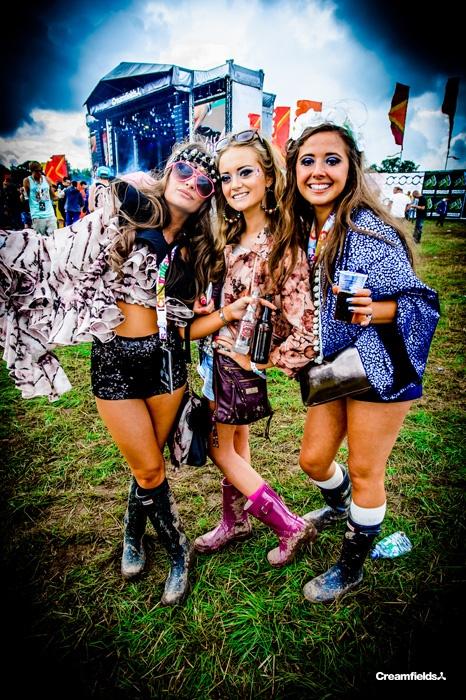 Sparkles! Sequins! Liverpool Festival style! Creamfields.com