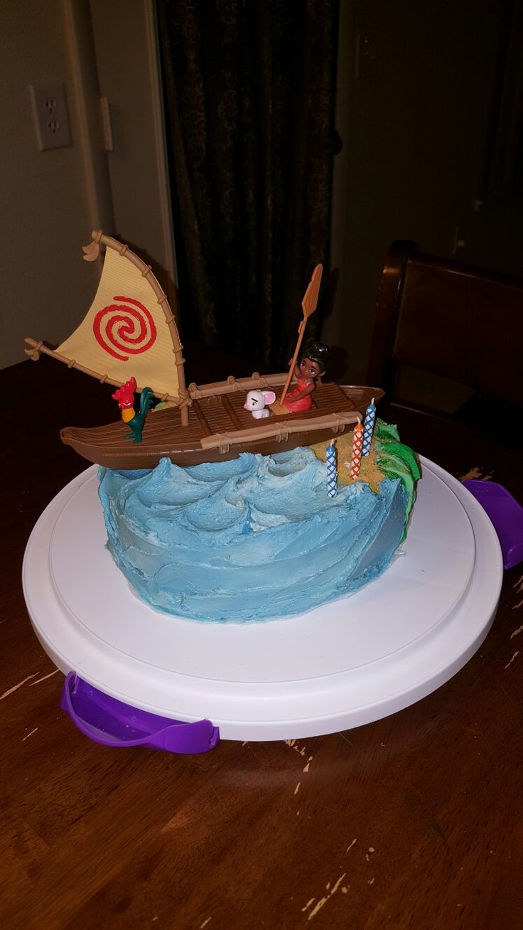 Cake Design Moana : 294 best images about My Hope s Party Ideas on Pinterest ...