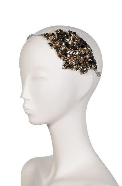 Stellina Headdress III Jet Dorado