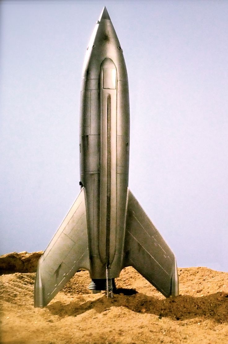 Your typical 50s/60s science fiction space rocket.