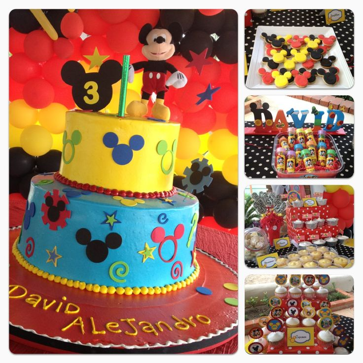 Mickey Mouse Cake Birthday Parties Clever Cake Fancy Cake Cake