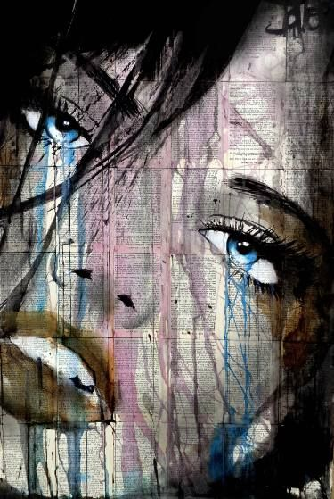 "Saatchi Art Artist LOUI JOVER; Drawing, ""whether or not"" #art"