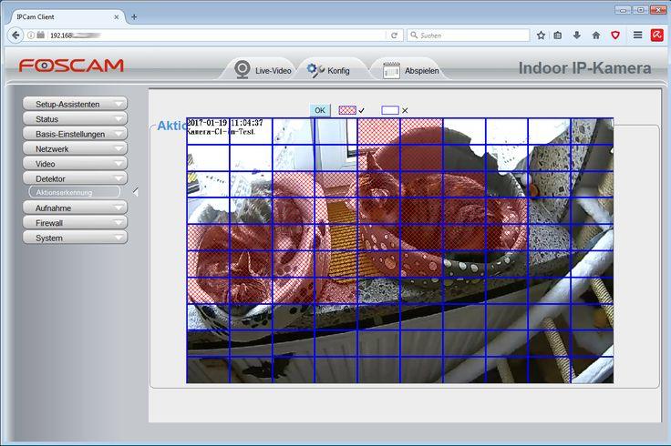 Vergleich und Test der #Foscam C1 #Überwachungskamera.Trotz PIR-Sensor und brauchbarer Bildqualität konnte die Kamera im #Test nicht so recht überzeugen. Es harkt bei den Browsern!