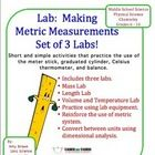 Three metric measurement labs in one download!  The three activities that are included are:Making Metric Measurements: MassMaking Metric Me...