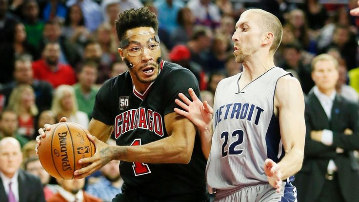 Rose, Bulls lack spark in loss to Pistons