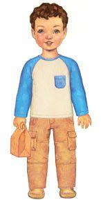Oliver + S. - Cargo Pants + Raglan T-Shirt | Pattern