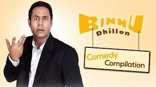 Best of Binnu Dhillon - Comedy compilation 2013-2014 | Punjabi Comedy - YouTube
