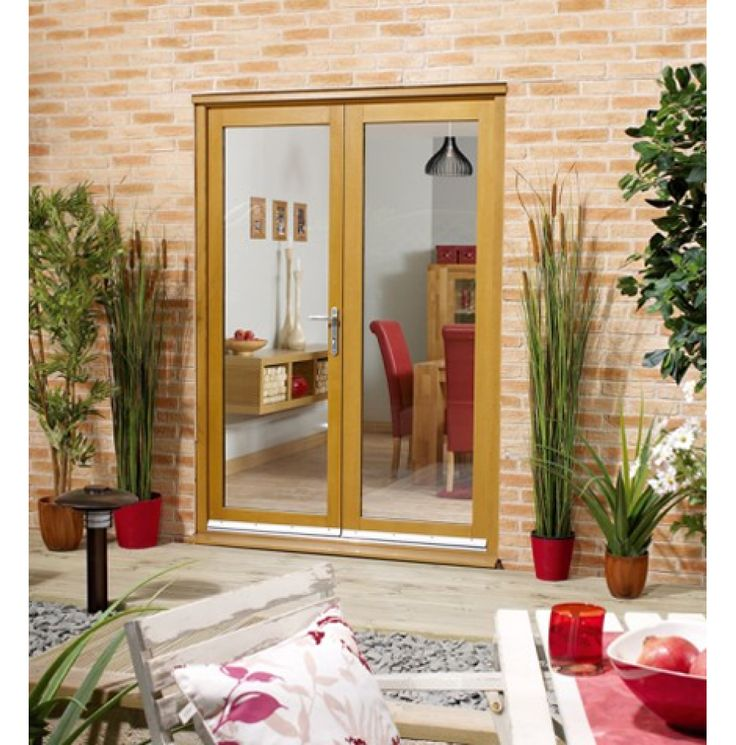 Choose Spacious Verity and Modern Design with French #Doors  #interiordesign #homedecor