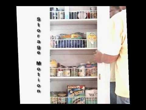 Automated Carousel Pantry Cabinet Storage Home