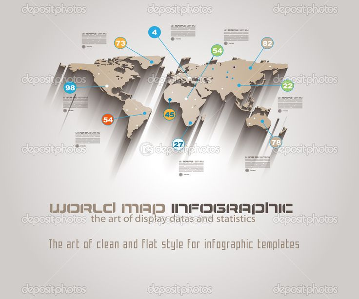 13 best map images on pinterest world maps infographic and world map infographic template stock illustration 41829165 gumiabroncs Images