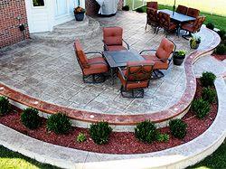 47 best mn outdoor ideas images on pinterest | outdoor ideas ... - Backyard Concrete Patio Ideas