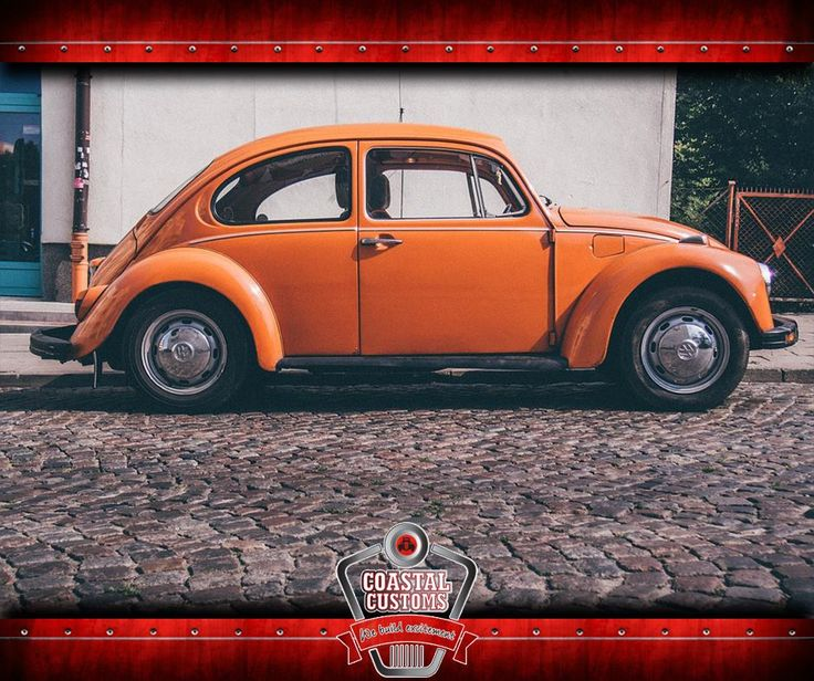 The #VolkswagenBeetle (officially the Volkswagen Type 1) is a two-door, four passenger, rear-engine economy car manufactured and marketed by German automaker Volkswagen (VW) from 1938 until 2003. #ThrowbackThursday #CoastalCustoms