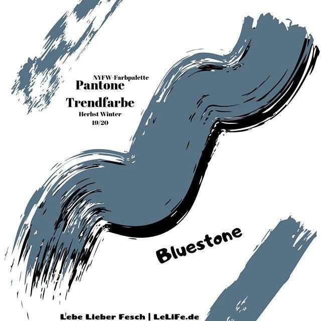Trendfarben Herbst Winter 2019 2020 Von Pantone Als Grau Blauer Farbton Ist Es Die Stille Entschlossenheit Die Unerschrockenheit Di En 2020 Accessoires Deco New Yorker