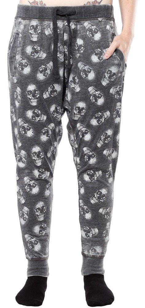 IRON FIST SKULL OF DOOM HAREM PANTS $50.00 #ironfist #harempants #skulls